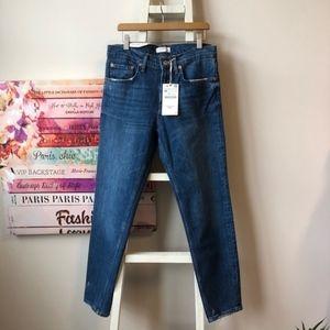 Zara The Slim Boyfriend Sunset Blue Jeans Size 4